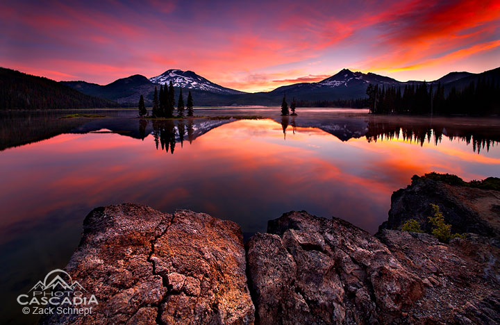 Location- Sparks Lake, OR